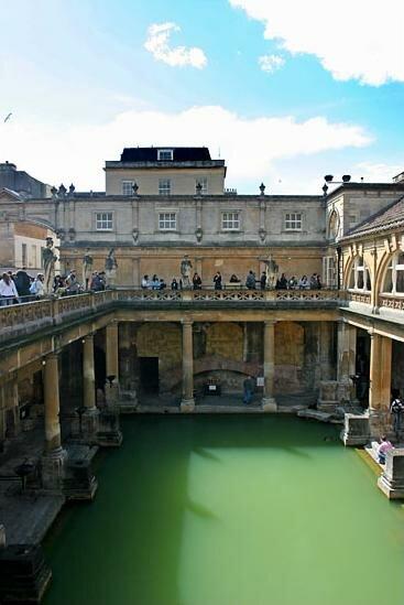 Римская баня - термы ( фото бани )