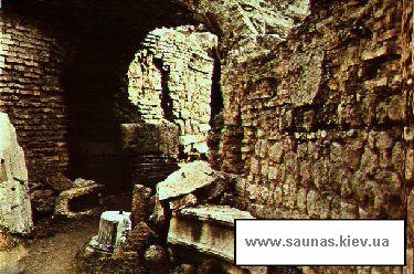 Служебные помещения римской бани(терм)