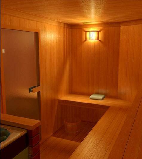Финская сауна - фото бани